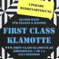 First Class Klamotte