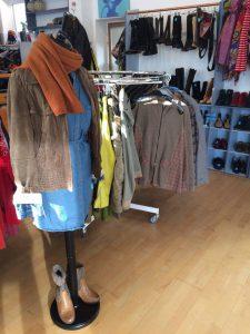 Weekend-Outfit #11 - Kleid, Jacke