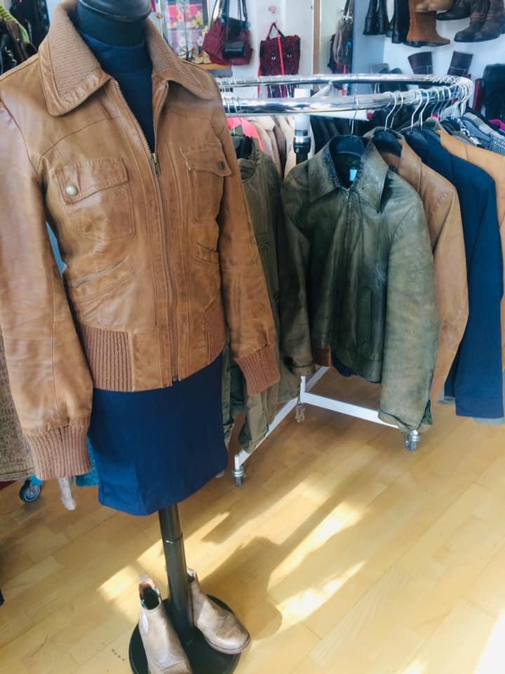 Klamotte-Lederjacken-Outfit #23