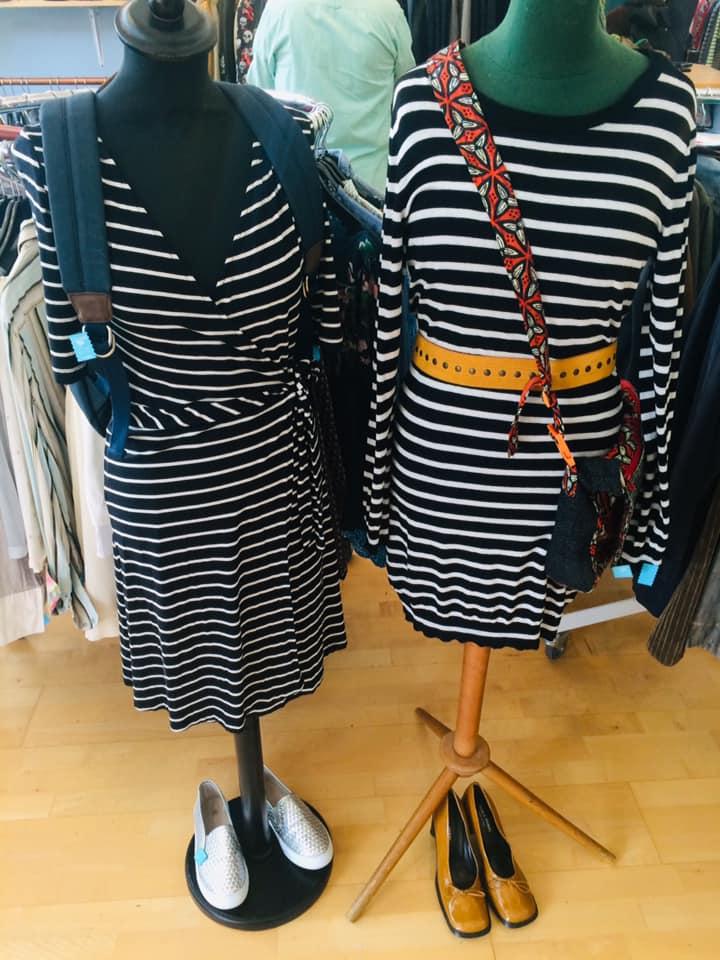 Klamotte-Outfit #44: Streifen, Baby!