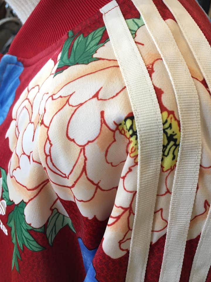 Klamotte-3-Streifen-Outfit #65 - Detail