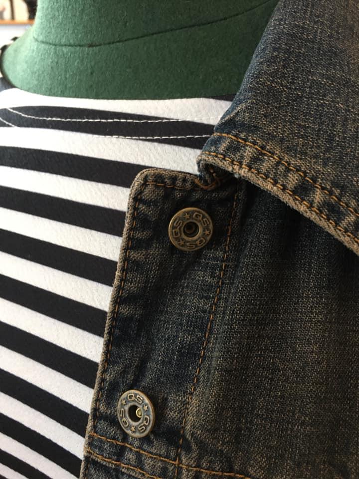 Klamotte-kein-Schnickschnack-Outfit #92 - Detail